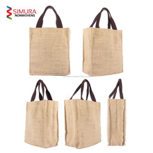 Customized Jute Shopping/Tote/Hobo/laptop/Cosmetic/Grocery/Gift Bag