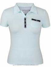 Custom Sexy School Top Fashion Girl T Shirt
