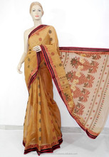 Bengal Handloom Sarees Varied Design Vivid Colors Collections