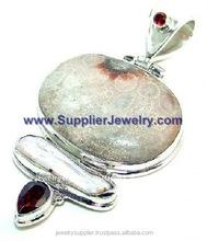 Artisan Blue Sun Star Sterling Silver Jewels H2152