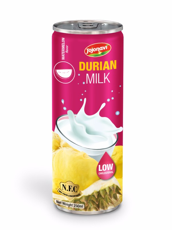 Durian milk with Waterrmelon flavour Soft drink factory for alu can 250ml.jpg