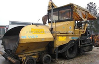 USED MACHINERIES - DEMAG DF 115 ASPHALT PAVER (6776)