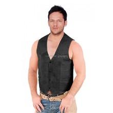 Fit Leather Vest Just for men
