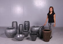 breathe planter- aluminum