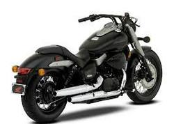 HONDA SHADOW PHANTOM MOTORCYCLE