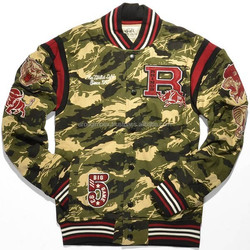 Camouflage baseball varsity jacket /Camo Print Varsity Jacket/High Quality hottest jacket/ hottest jacket
