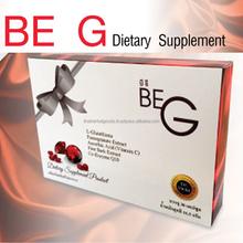 Skin Lightening Supplement of Glutathione