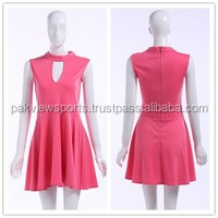 2015 Women's New Red Dynamic Sleeveless Tennis Wear