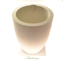 Cup Crucible by ARM - TIEGEL for Melting Metal, Very High Quality 110x140 mm.