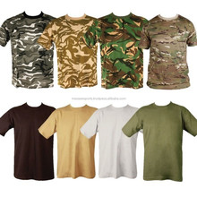 100% algodão macio personalizado de manga curta digital camuflagem acu t- shirt