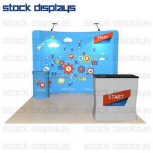 Trade show displays, display boards, trade show cases