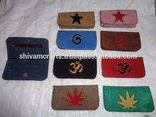 funda de piel tabaco bolso de la india