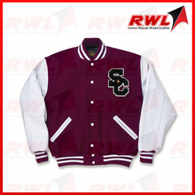 Grab Your Own Design Custom Varsity Jackets With Chenille Patch & Sublimation Lining From Pakistan.