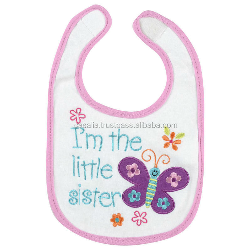 Cheap Cotton Baby Bib Wholesales Made In Vietnam