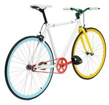 Brand New 2015 High Quality Single Speed Fixed Gear Bicycle for ladies 50, 52 Size