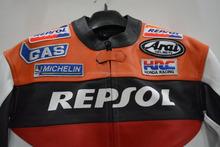 Honda Repsol Motorbike Jacket, Motorbike leather Jacket, Honda Repsol Leather Jacket