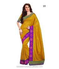 Kundan Work Saree Collection