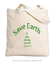 Customized cotton canvas tote bag/cotton bags/ durable cotton bags organic cotton tote bags wholesale
