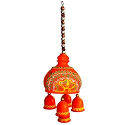 Indian Terracotta Handicraft Home Decor - Terracotta Hanging Bell