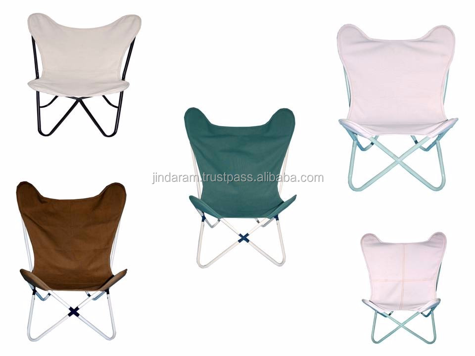 Modern Canvas Butterfly Chairs.JPG