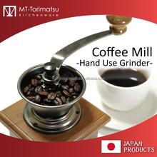Japanese Cafe Shop Varistor Likes Old Style Manual Coffee Grinder
