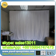 Easy install pipe and drape systems for photo booth