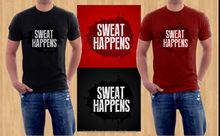 brand men t-shirt shape printed compressed T-shirt