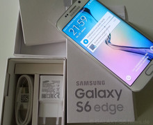 New Samsg Galaxi S6 edge LTE 16MP Android Phone Dropship Wholesales By DHL(Factory Unlocked) BUY 2 GET 1 FREE in box