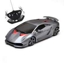 Rastar Licensed Lamborghini Sesto Elemento Remote Controlled Battery Operated RC Toy Racing Model Car Diecast 1:14 Scale Grey