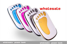 Foot shape Portable USB Rechargeable Power Bank Cell Phone, MP3, MP4