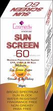 Sunscreen 60 Sunblock cream