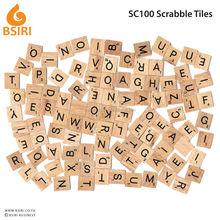 Wooden letters scrabble tiles Replacement Pieces