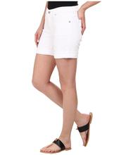 Para mujer Denim sarga mini pantalones vaqueros cortos