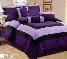 bedding fabric comforter set luxury wedding american style bedding set 100% polyester wholesale bed sheets