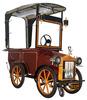 Relux Classic Car Steel Kiosk Cart or Iron Food Cart