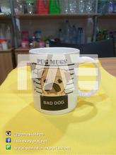 Promotional Heat Transfer Coffee Ceramic Mug WIth Customized Logo
