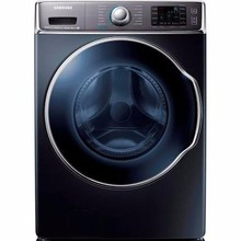 For The New Samsung - 5.6 Cu. Ft. 15-cycle High-Efficiency Steam front-loading Washer - Onyx