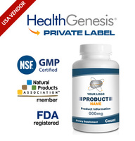 Private Label Arginine & Ornithine 250 Capsules from NSF GMP USA Vendor
