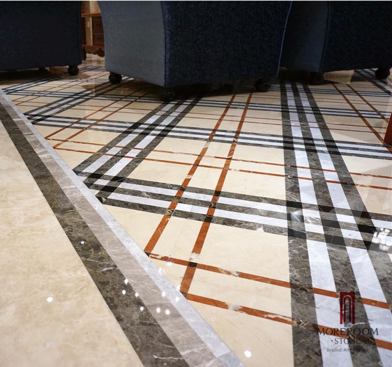 Marble floor tile cost