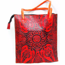 The classical design China supplier leather clutch bags women