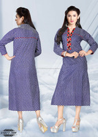 Designer Fancy Kurti | Womens Cotton Kurti