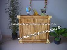 Muebles para el hogar, bambú gabinete