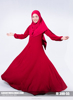 Jubah and Dress with Lycra Korea , JU-55
