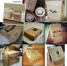 Custom Corrugated Carton Box Packaging 3/5 shipping Brown/White corrugated box