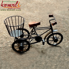 Bicycle Miniature and Decorative Wrought Iron Bicycle Home Decor - Handmade Miniature Bike - Iron Metal Craft