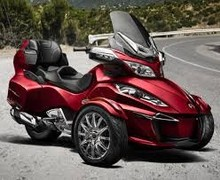 New Urgent Sales for 2015 Can-Am Spyder RT Limited Motorcycle