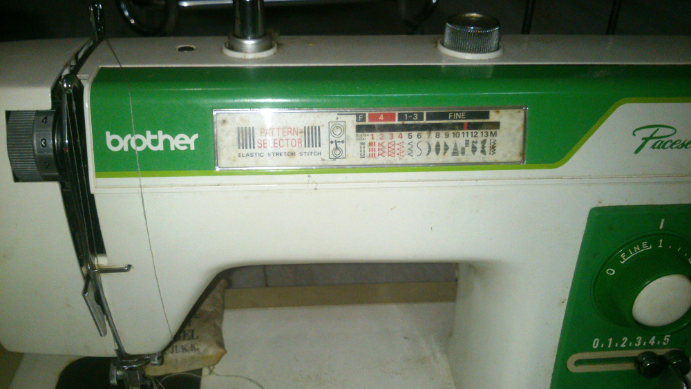 pacesetter by sewing machine