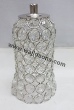 Decorative crystal votive for chandelier decorate