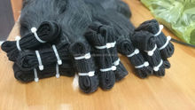 NATURAL HAIR EXTENSION 100% VIRGIN HAIR UNPROCESSED DOUBLE STRAIGHT WEFT HAIR HUMAN
