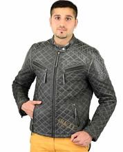 Hombres de la chaqueta de la moda de motos